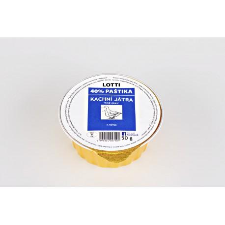 40% kachní paštika Foie Gras 50g