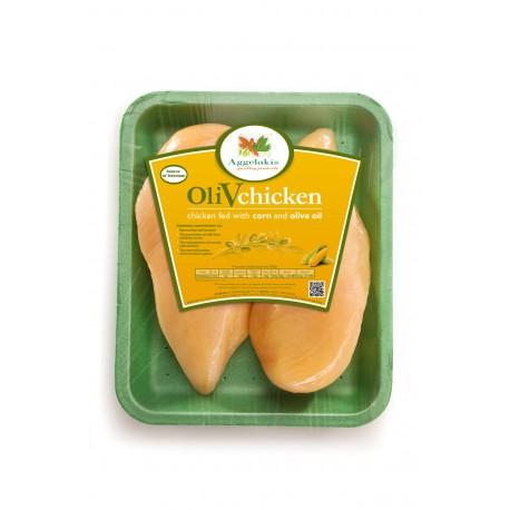 Olivové kuře - prsa (bez kůže)